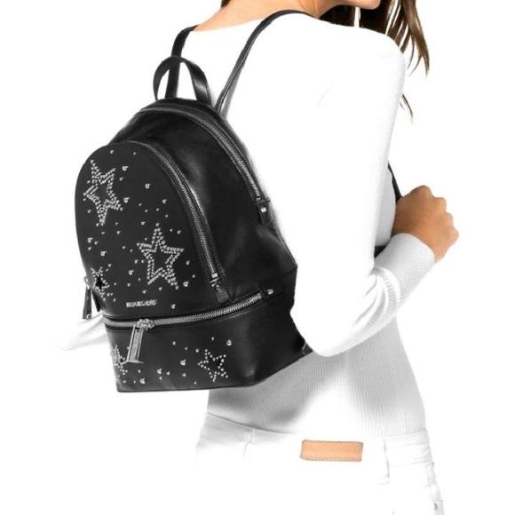 edd895b49252 RHEA Zip Star Studded Backpack ORIGINAL WRAPPING!!